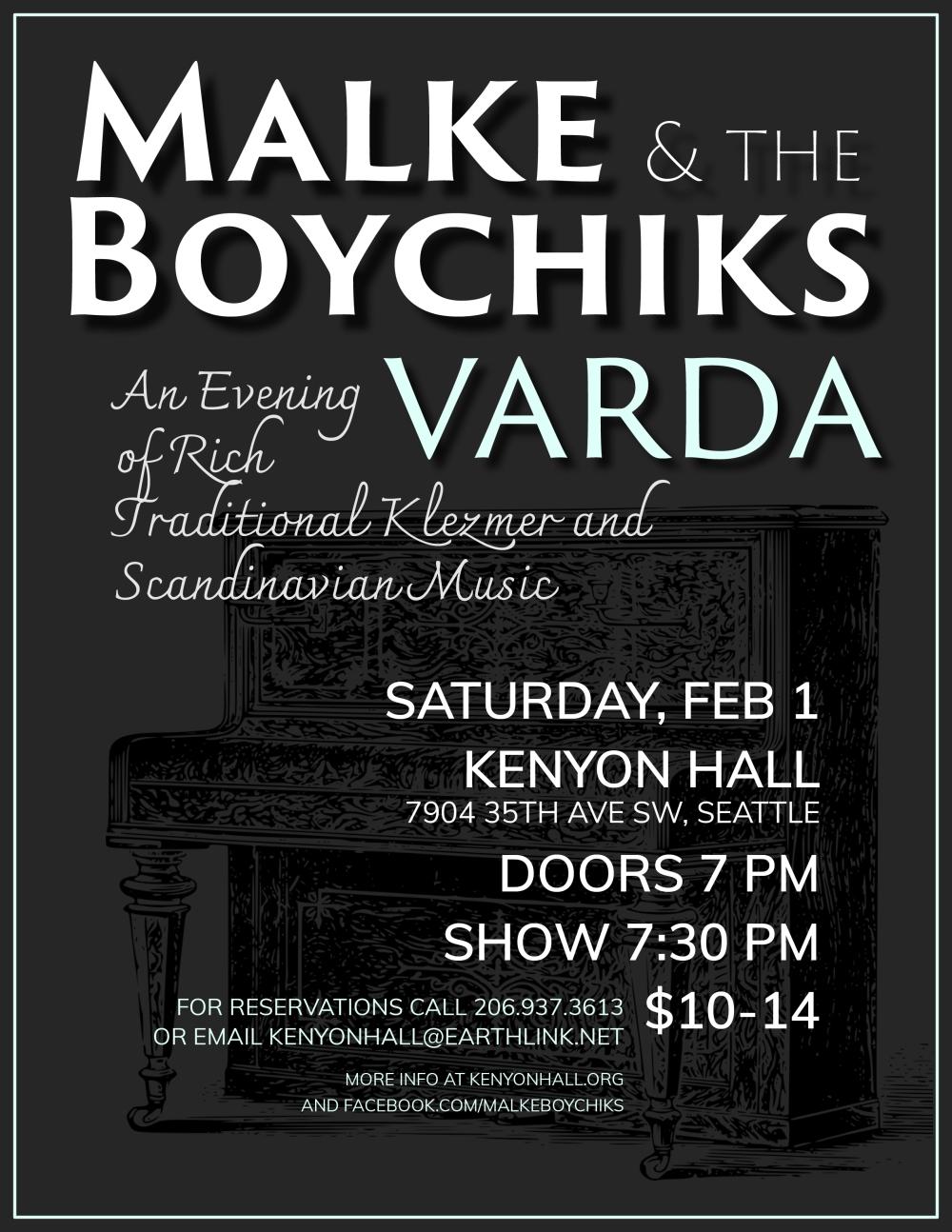 Boychiks Feb 1 Kenyon